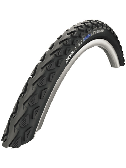SCHWALBE Land Cruiser Bike Tire Active, 28 x 1.60, Wire black